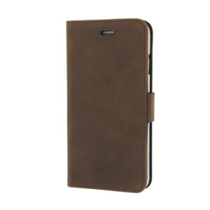 Valenta iPhone 5, 5s, SE læder Booklet cover vintage brun