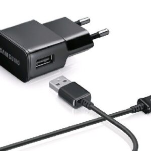 Samsung Micro USB lader med kabel sort