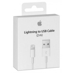 Lightning til USB kabel 2m