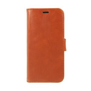 Valenta iPhone X, Xs læder Booklet cover brun